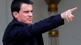 Prime Minister Manuel Valls pictured leaving a cabinet meeting recently