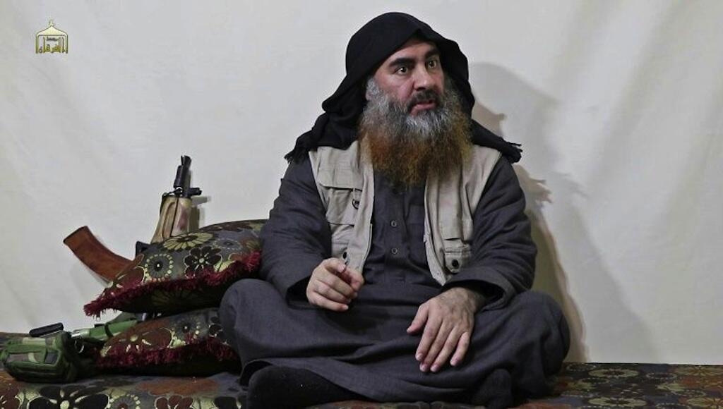 Jagoran IS Abu Bakr al-Baghdadi.