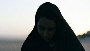 Une des photographies du porte-folio sur les femmes algériennes dans la révolution.
