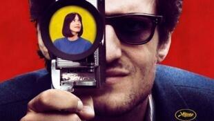 """""""Le Redoutable"""" está protagonizada por Louis Garrel y Stacy Martin."""