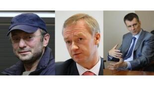 Сулейман Керимов, Владислав Баумгертнер и Михаил Прохоров
