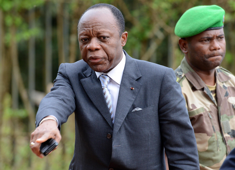 Le général Mokoko, candidat à la présidentielle au Congo-Brazzaville.