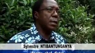 Sylvestre Ntibantunganya.