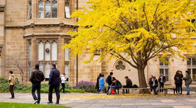 澳大利亞墨爾本大學一角