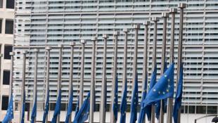 Le bâtiment de la Commission européenne à Bruxelles .