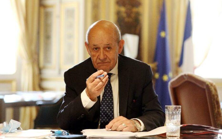 Jean-Yves Le Drian, ministro francês dos Negócios Estrangeiros