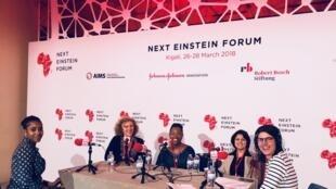 De gauche à droite : Aminata Garba, Caroline Lachowsky, Éliane Ubalijoro, Rym Kefi et Sophie Becherel.