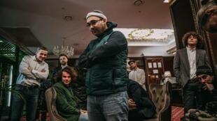 Режиссер Евгений Дамаскин на съемках фильма «Молдова 89–91»