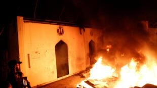 اولین حمله به کنسولگری ایران در نجف
