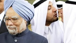 The Indian Prime Minister Manmohan Singh