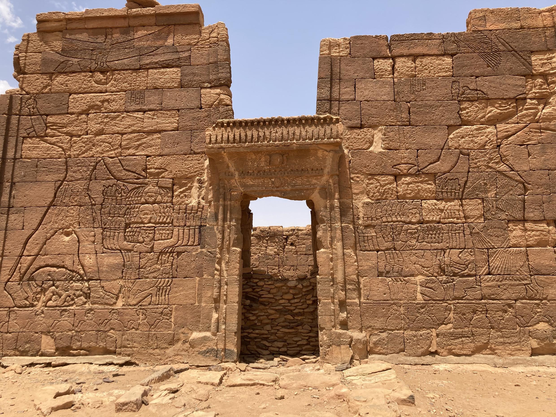 lion temples Sudan meroe