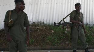 Sojojin gwamnatin Burundi na sintiri a Bujumbura