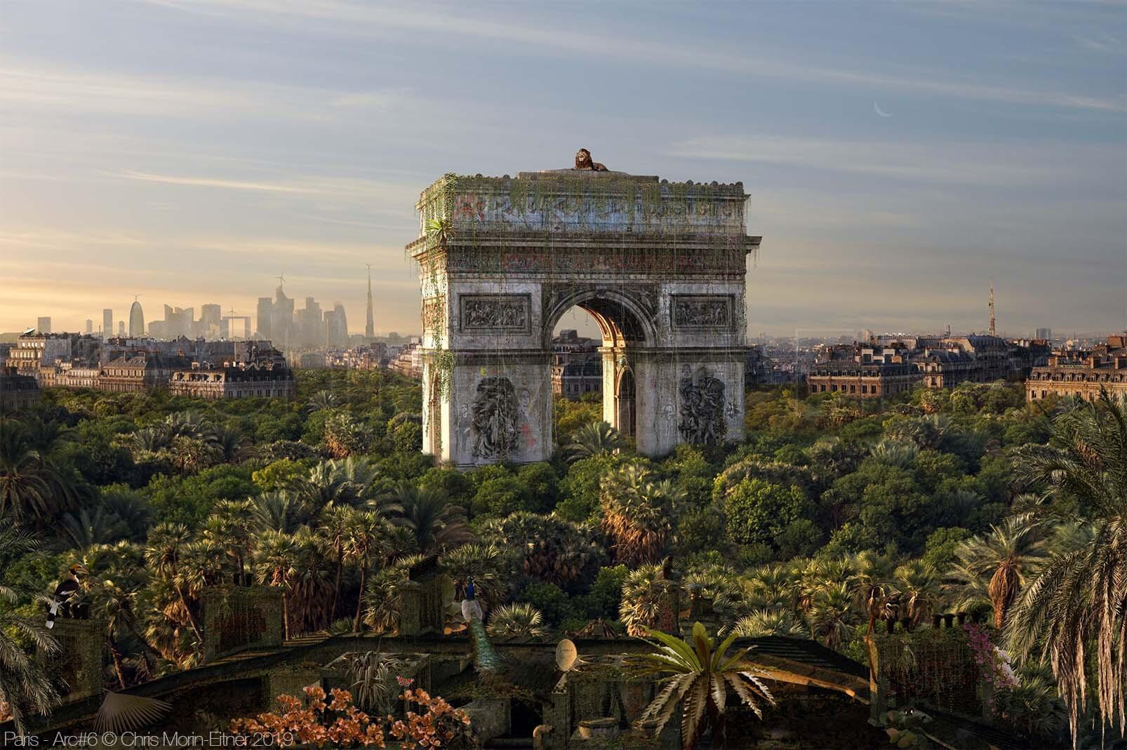 """Paris, Arc"", 2019."
