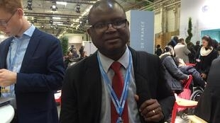 Técnico da secretaria de Estado guineense do ambiente, Viriato Cassamá.