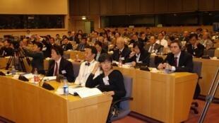 2007年在布魯塞爾歐盟大廈舉行的論壇會場一隅
