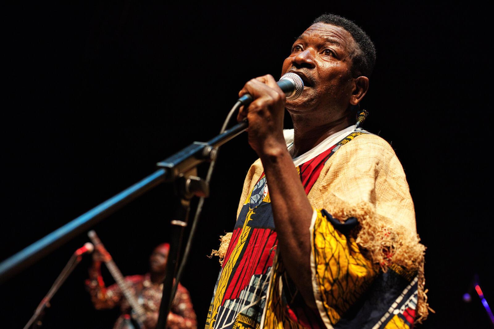 Le chanteur congolais Zao.