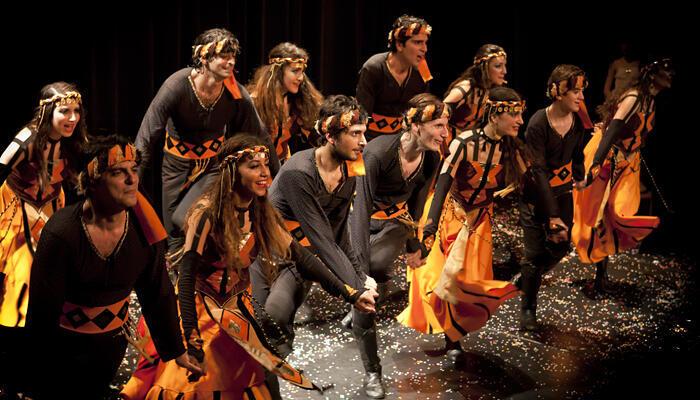 Танцевальная труппа Yeraz