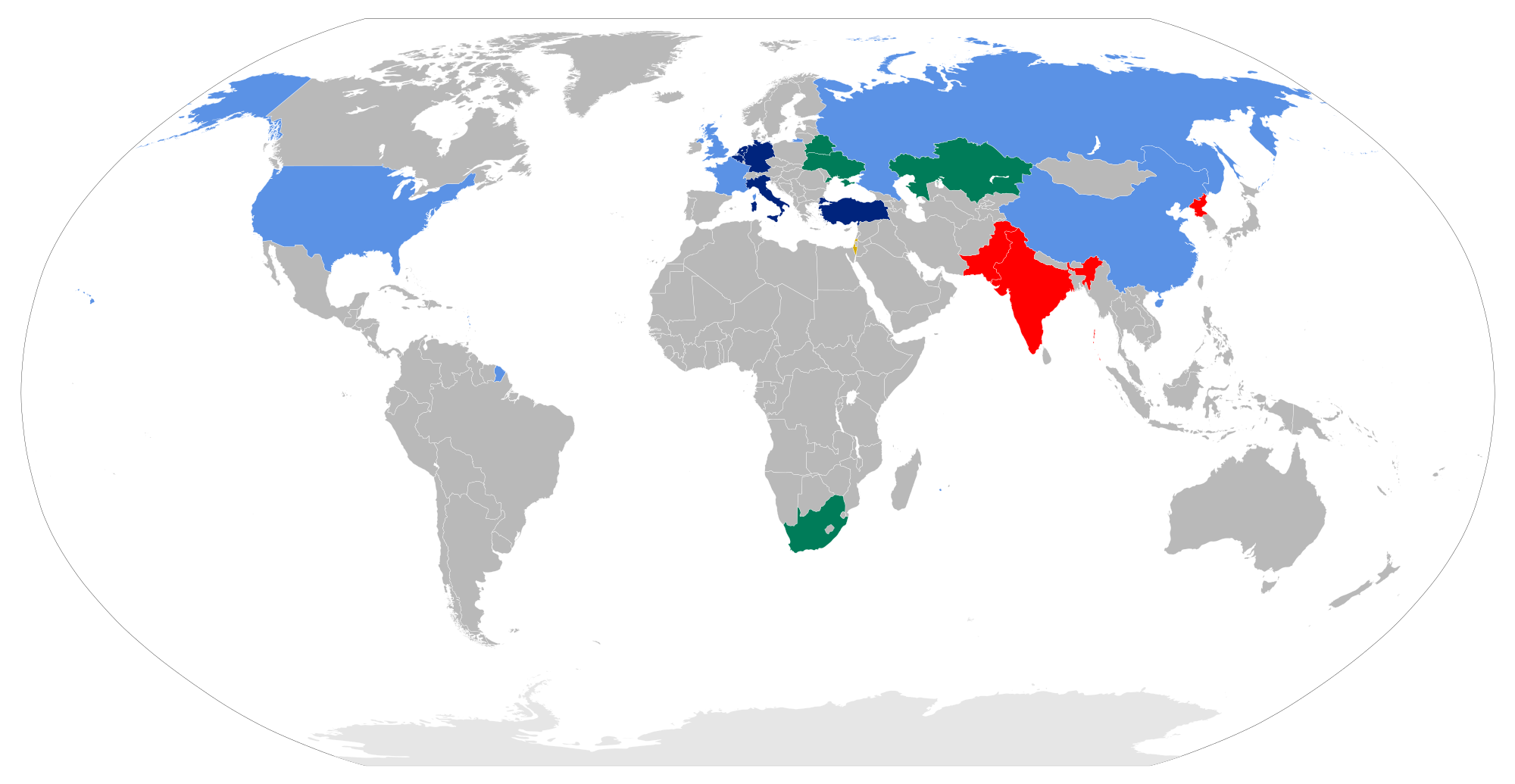 A_map_of_states_possessing_nuclear_weapons
