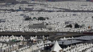 La ville de Mina, près de La Mecque, où la bousculade meurtrière s'est produite le 24 septembre 2015.