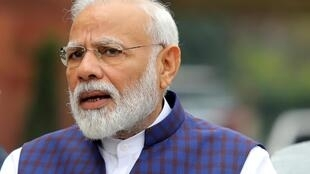 """The world believes in us,"" says Narendra Modi, as India's economy shrank by record 23.9 percent in recent months."