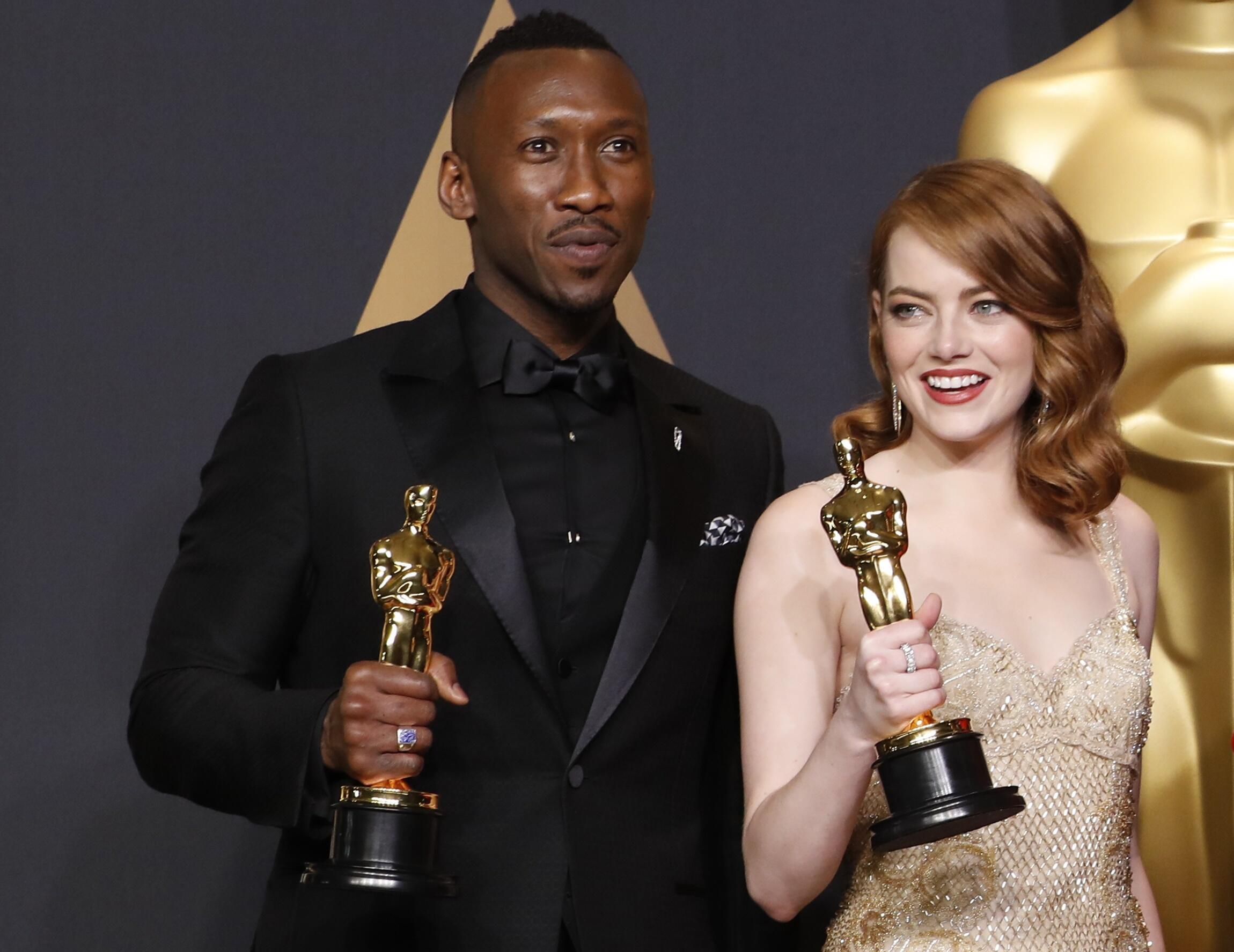 《越來越愛你》女主角艾瑪斯通(Emma Stone)她獲得2017年奧斯卡最佳女主角獎