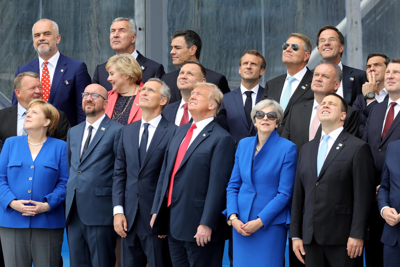 A discussão sobre as contribuições de cada Estado-membro para a OTAN dominaram a reunião da organização, em Bruxelas.