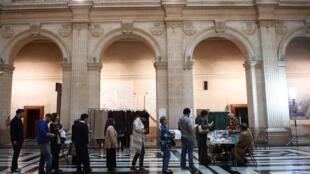 Cử tri Marseille, miền nam Pháp, đi bỏ phiếu vòng 1 cuộc bầu cử tổng thống Pháp ngày 23/04/2017.