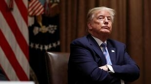 Le président américain Donald Trump, le 15 juin 2020.
