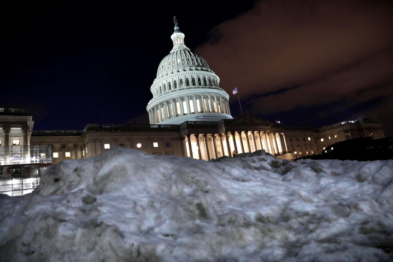 Imagen del Capitolio, Washington, el 16 de enero de 2019.