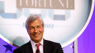 JPMorgan boss Jamie Dimon speaks during an event in New York City, 7 May 2012.
