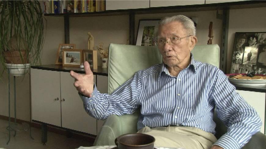 O ex-prisioneiro de guerra holandês Willy Buchel