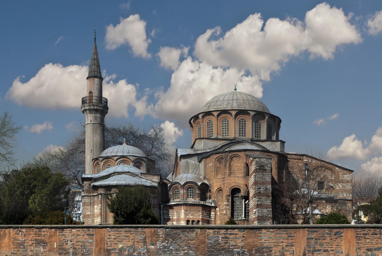 La basílica de Chora se convierte en mezquita.