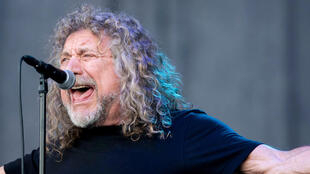 The voice of Led Zeppelin, Robert Plant, July 2018.