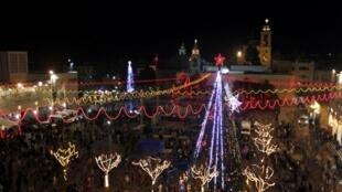 Lascelebración de Nochebuena en Navidad es uno de los principales atractivos de estas fechas en Cisjordania.