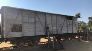 Madagascar - Moramanga - 1947 - wagons - réplique - musée