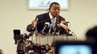 Lambert Mende, porte-parole du gouvernement de la RDC, revient régulièrement sur le «Congo bashing».