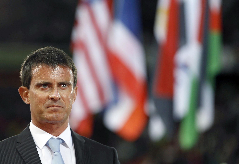 O primeiro-ministro da França, Manuel Valls.