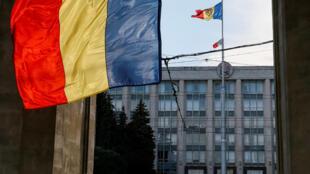 Здание правительства Молдовы в Кишиневе