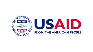 Logo da Agência americana para o Desenvolvimento Internacional -USAID, uma das ONGs visadas pelo governo russo..