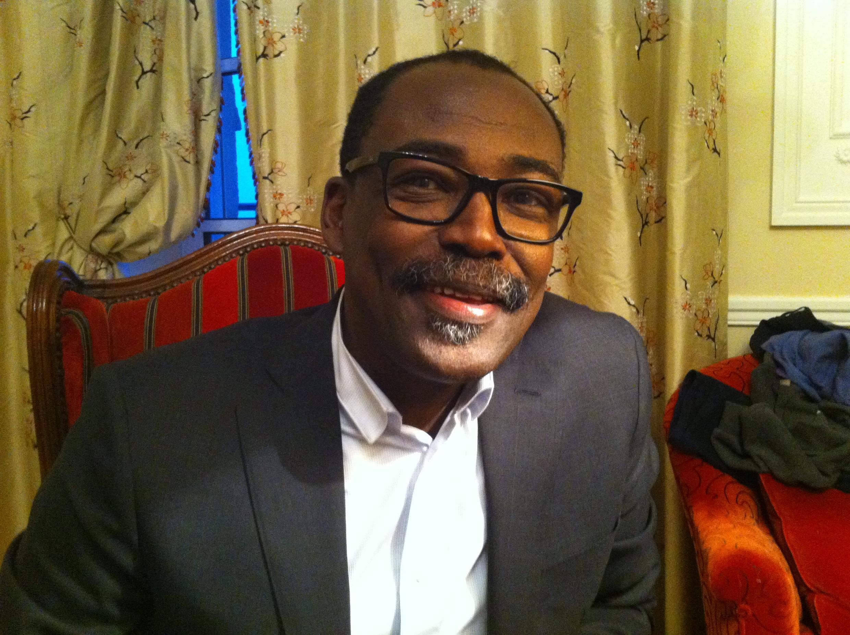Mahamat Saleh Haroun, réalisateur tchadien et membre du jury au 27e Fipa à Biarritz.