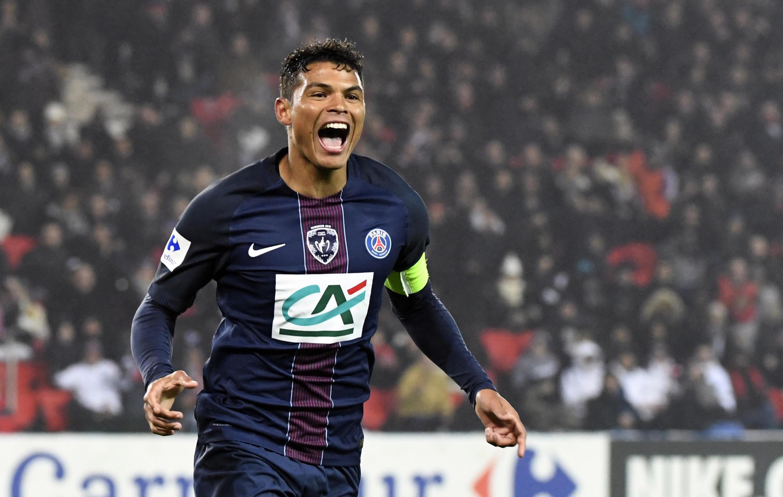 PSG Captain Thiago Silva.