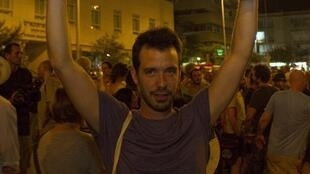 Manifestation à Tel Aviv le 21 juillet en hommage à Moshé Silman  qui s'est immolé par le feu le 14 juillet 2012.