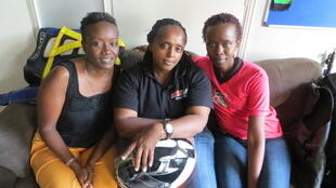 Susan Mullei, Eunice Karanja and Njeri Mwangi have all started using motorcycles to get around Nairobi. They say it saves time and money.