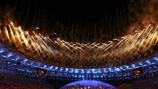 A spectacular fireworks display was one of the highlights of the opening ceremony of the 2016 Olympics in Rio de Janeiro.