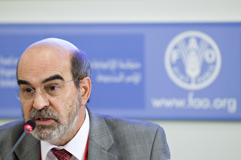 O recém-eleito diretor-geral da FAO, José Graziano da Silva.