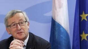 O premiê de Luxemburgo e presidente do Eurogrupo, Jean-Claude Juncker.