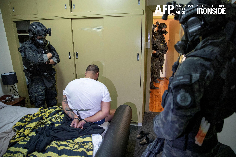 australie opération spéciale police crime organisé