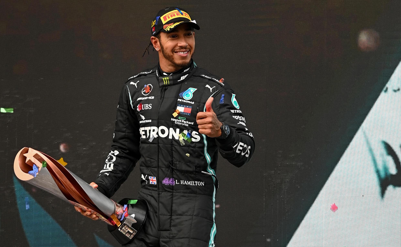 Lewis Hamilton (Mercedes) sagrou-se Campeão do Mundo de Fórmula 1 pela sétima vez.