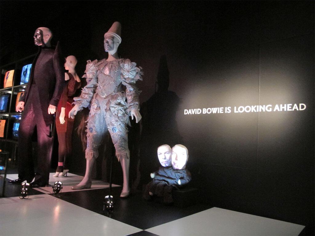 L'exposition David Bowie au Victoria & Albert Museum.