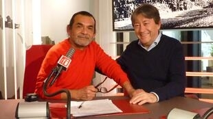 Alberto Mego y Jordi Batallé en RFI
